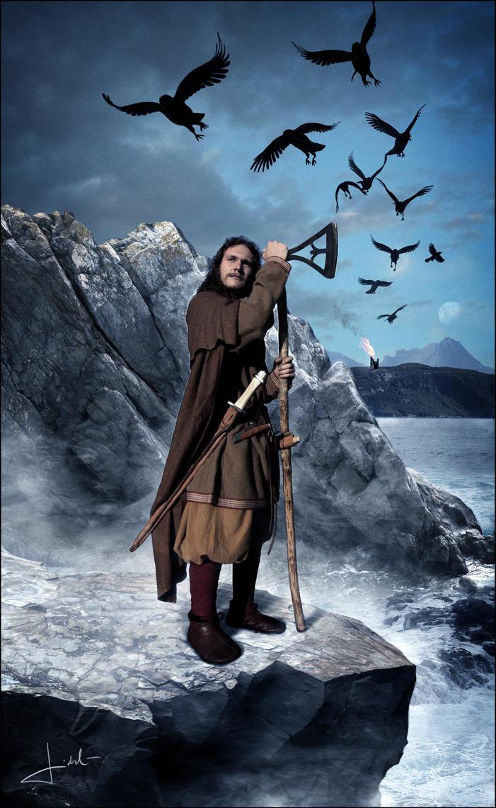 Viking warrior by Nordfern