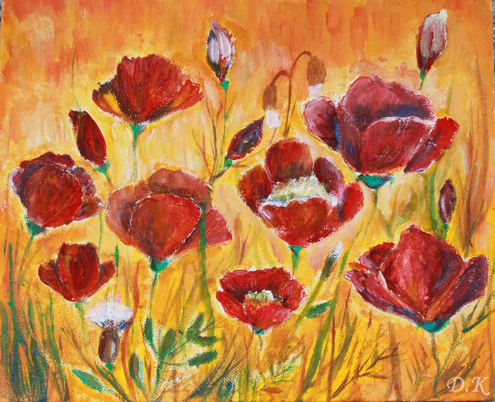 poppies by dolfii