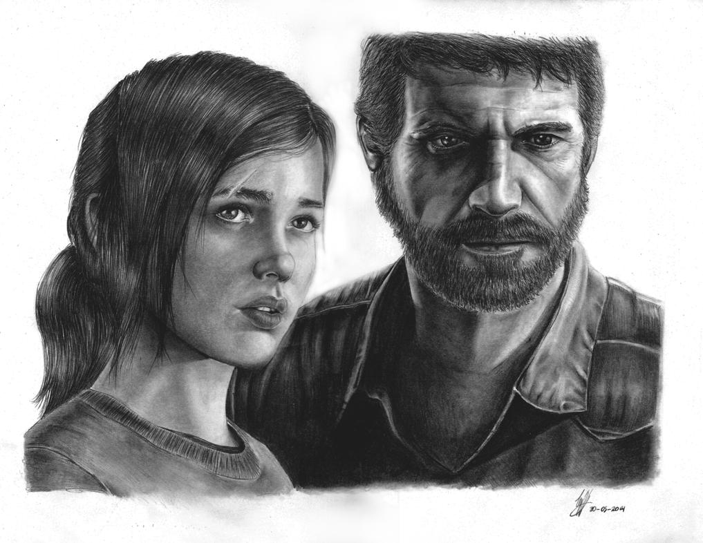 Ellie an Joel by Woophy