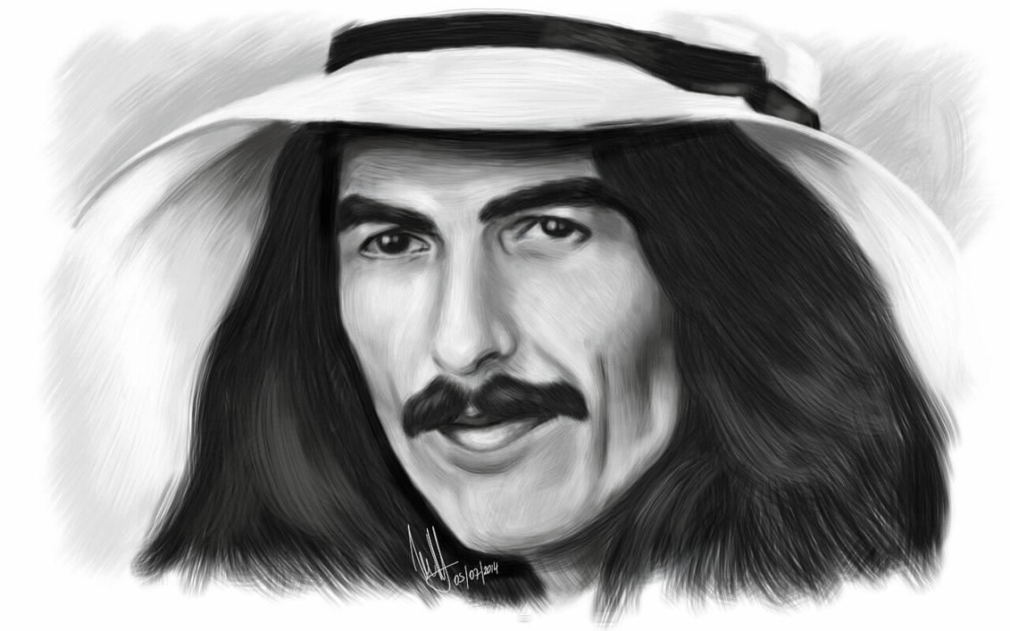 George Harrison by Woophy