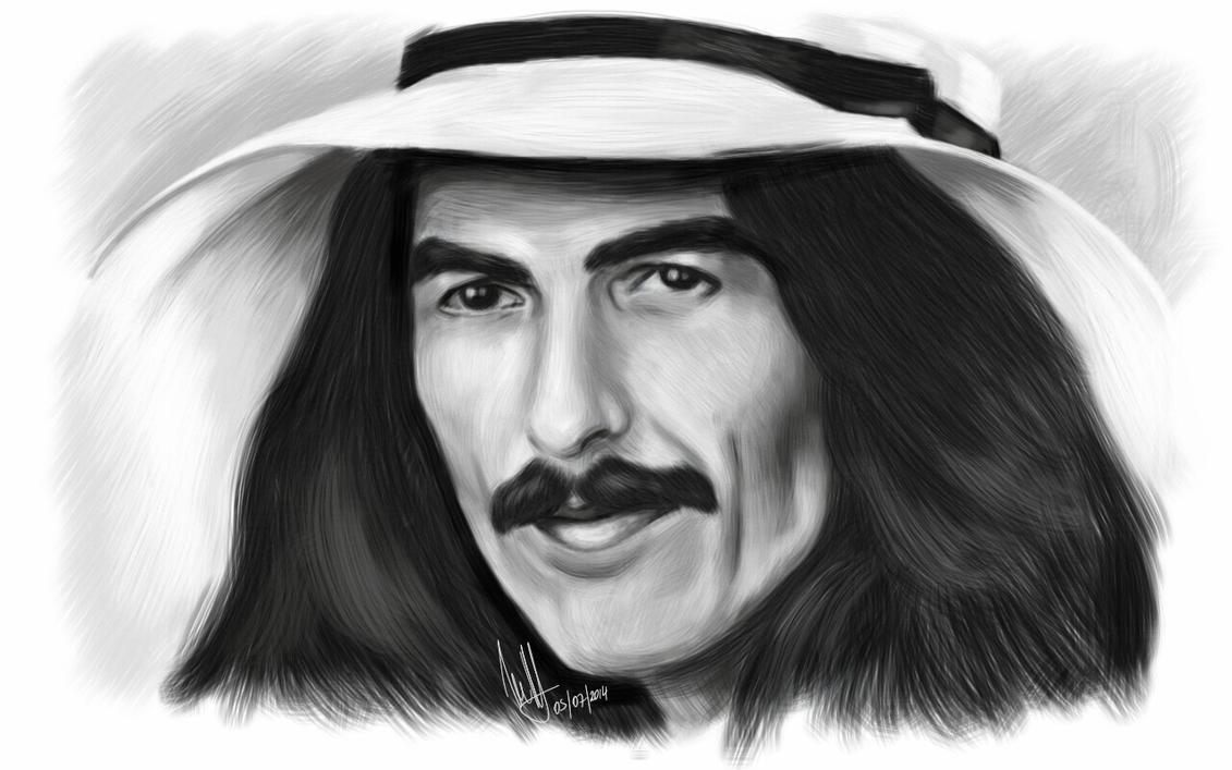 George Harrison by Woophy