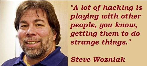 Famous Steve Wozniak quotes by HackNews by HackNewsEU