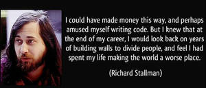Best Richard Stallman quotes by HackNews