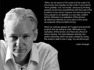 HackNews quotes from Assange