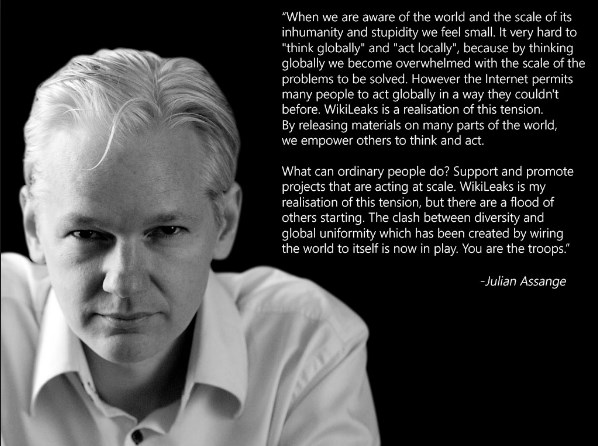 HackNews quotes from Assange by HackNewsEU
