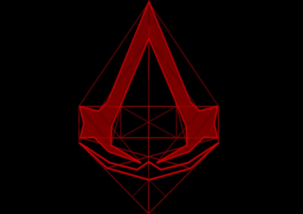 assassin 39 s creed line logo wallpaper by x 2013 on deviantart