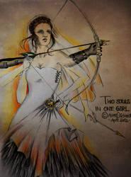 Two Souls in one Girl by FarrahPhoenix