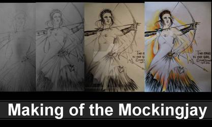 The Making of the Mockingjay by FarrahPhoenix