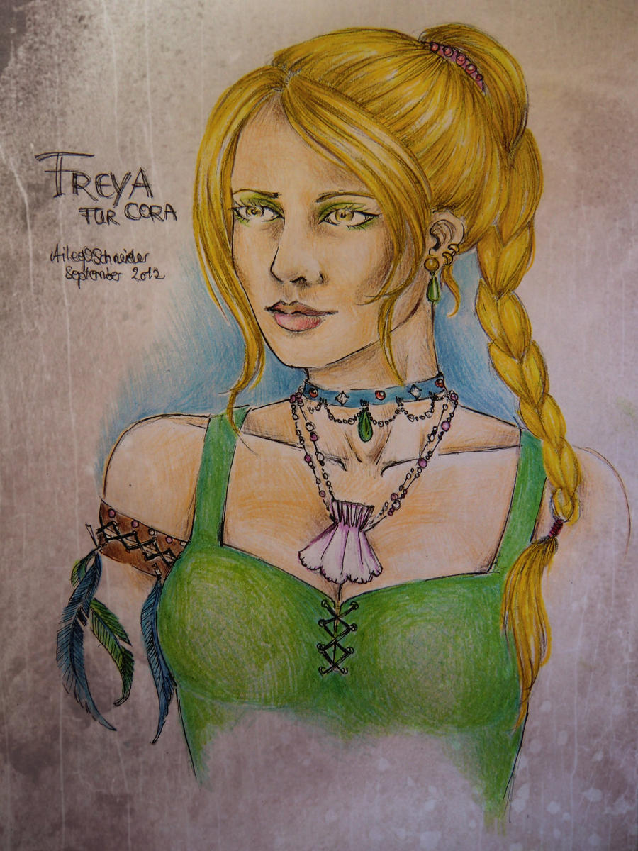 Freya - Thank you Gift for Cora by FarrahPhoenix