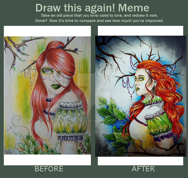Draw this again 2010/2017 by FarrahPhoenix