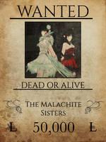 wanted Malachite Sisters