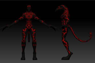 Dark Devil markings by bbbhyt