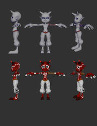 Demihuman Imp reference by bbbhyt