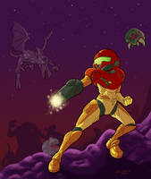 Super Metroid by normgrock