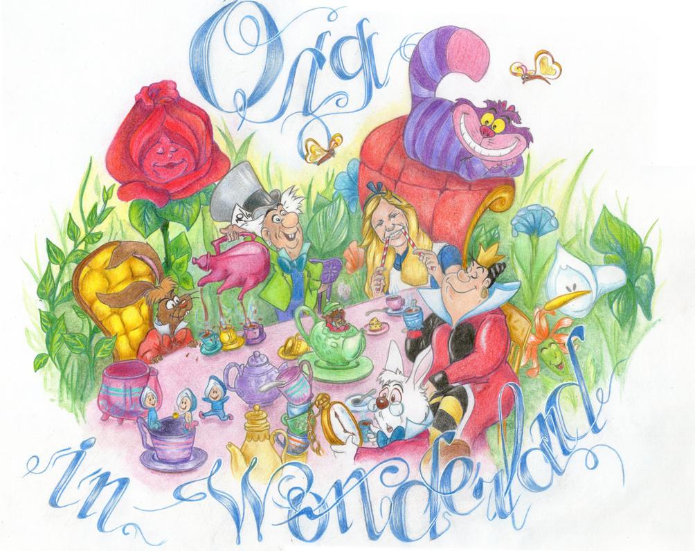 Olga in Wonderland by Nastjolle