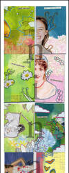 trading cards. by ninas-illustrations