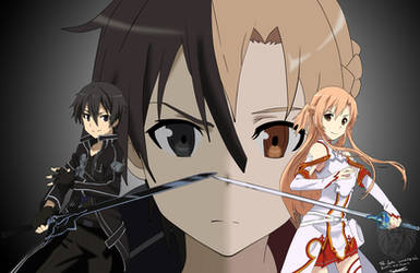 The Lovers: Sword Art Online: Kirito and Asuna by DDesigns0