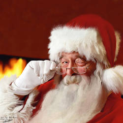 Santa Says Merry Christmas!