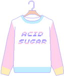 (F2U) Fairy Kei Sweater - Acid Sugar