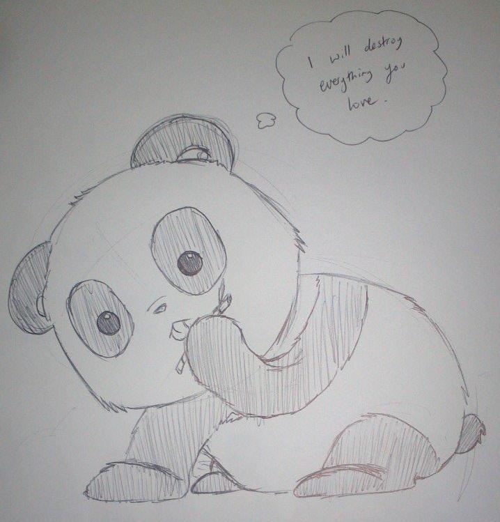 Evil Panda Gif Evil Panda by Moxximillion