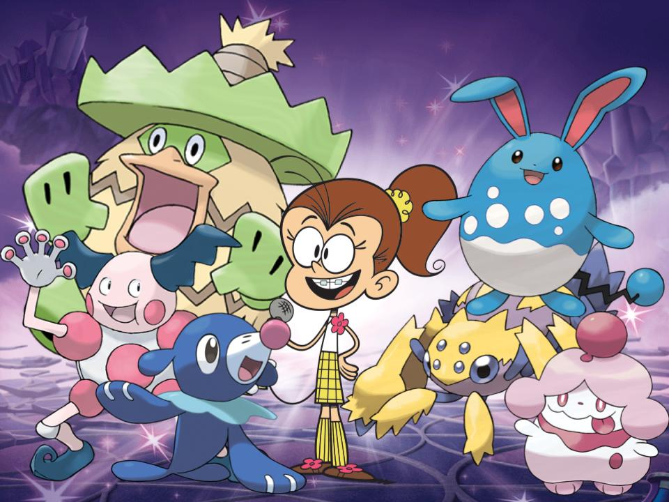 Luan's Pokemon by magmon47