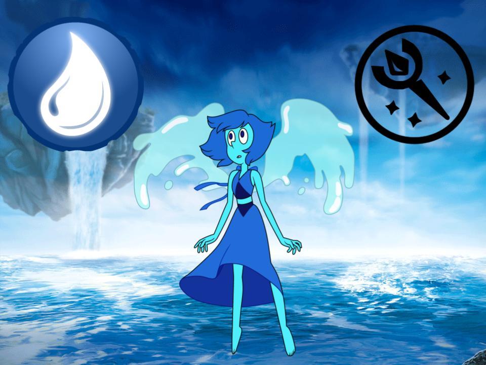 Lapis Water Sensei/ Sorcerer Class by magmon47