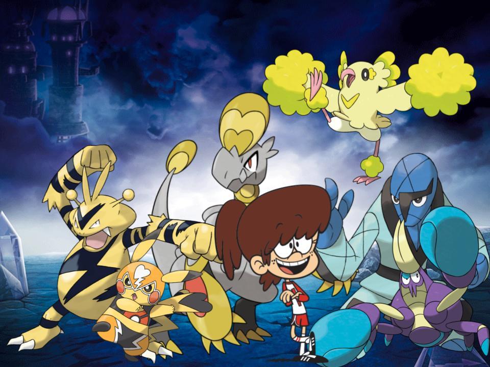 Lynn's Alola Pokemon by magmon47