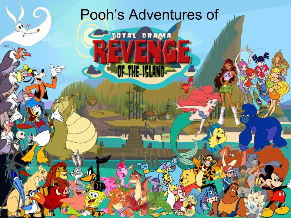 Pooh's Adventures of TD/ ROTI Poster by magmon47