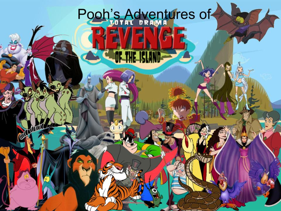 Pooh's Adventures of TD/ ROTI (Villans) by magmon47