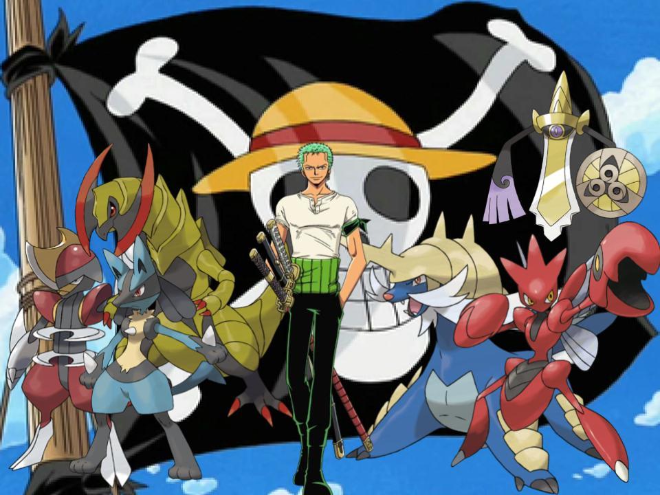 Zoro's Pokemon by magmon47