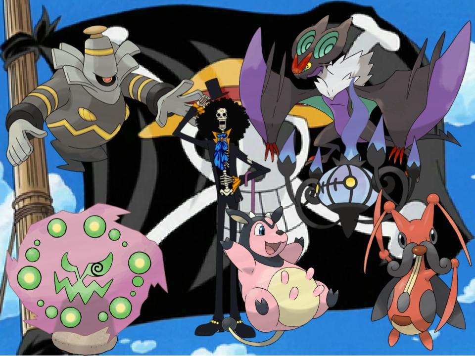 Brook's Pokemon by magmon47