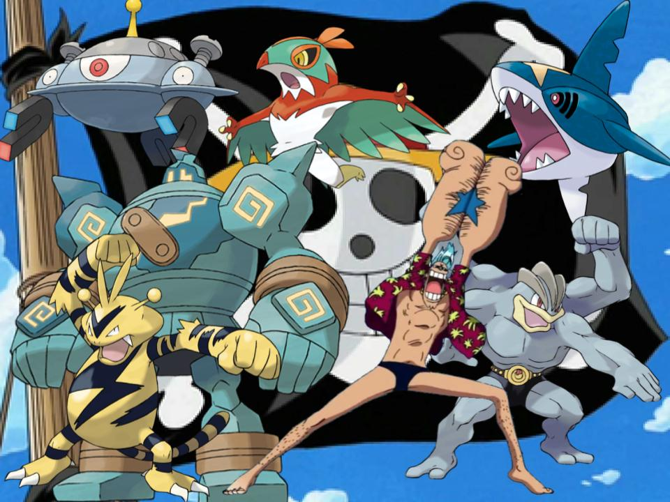 Franky's Pokemon by magmon47