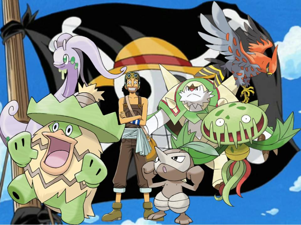 Usopp's Pokemon by magmon47