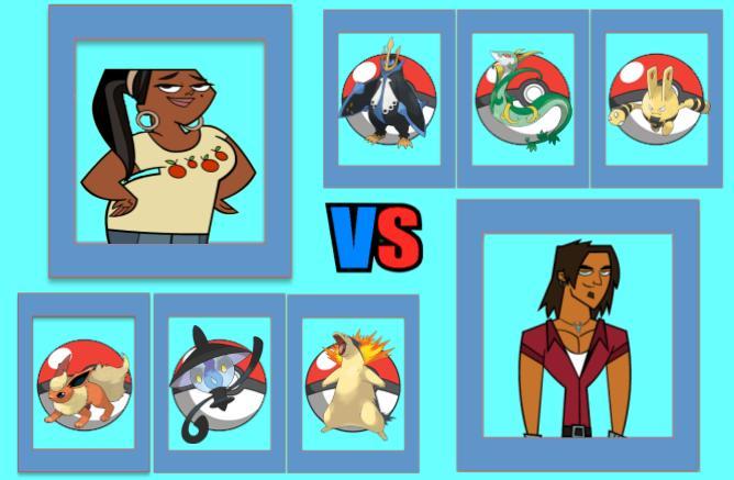 Round 2 Part 1: LeShawna vs Alejandro by magmon47