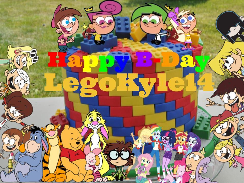 Happy Birthday LegoKyle14! by magmon47