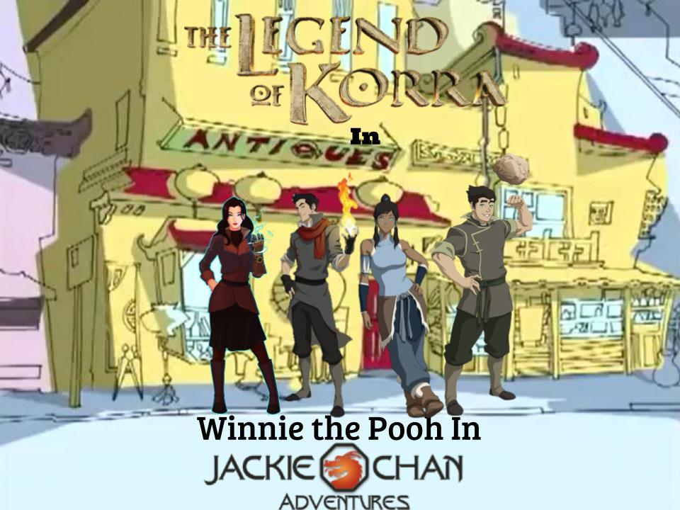 Winnie the Pooh in Jackie Chan Adventures (LOK) by magmon47