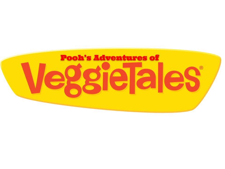 Pooh/Veggietales Logo by magmon47