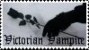 Victorian Vampire Stamp I by peterdawes