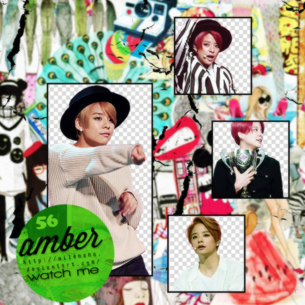 Amber f(x) PNG by MilenaHo
