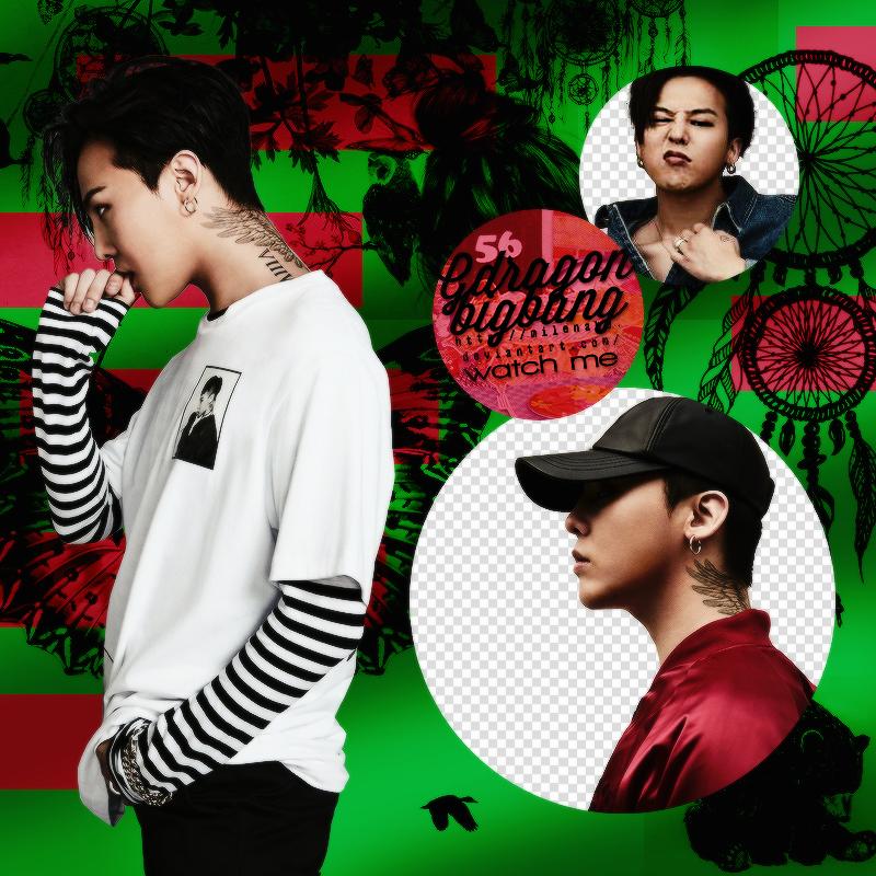 GD BIGBANG PNG by MilenaHo