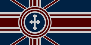 Alternate History British Flag by CommieTechie