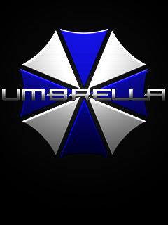 Blue Umbrella Phone Wallpaper By CommieTechie