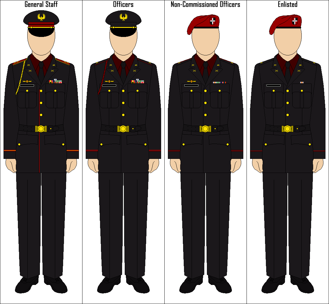 Steel Union Military Dress Uniform by CommieTechie on ...