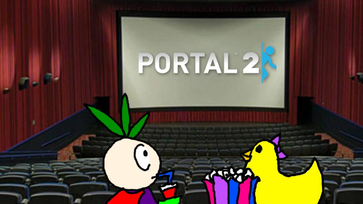 Portal 2 Thumbnail - Movie Night! by gizmo2300