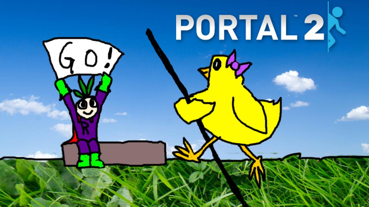 Portal 2 Thumbnail - Robot Gymnastics! by gizmo2300