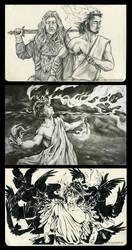 Sketchbook 2014: God of Judgements