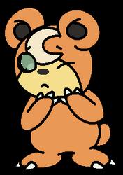 .little teddy bear-commission. by GreenGeckyGecko