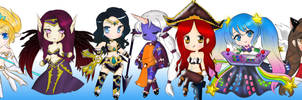 Chibi Champions from League of Legends