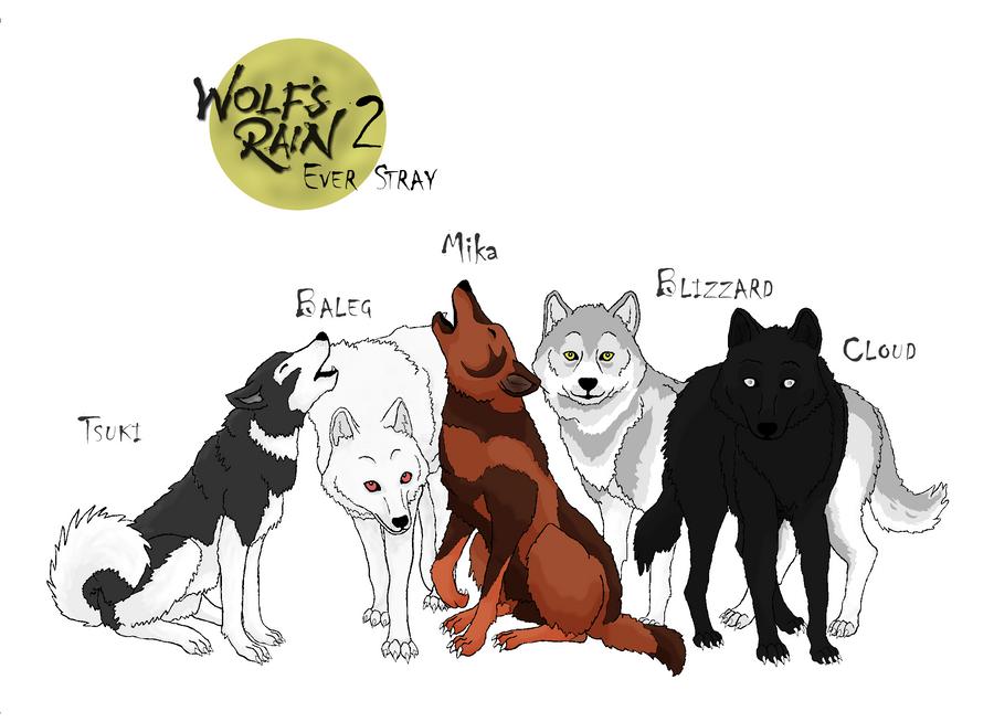 Wolfs Rain 2 - Ever Stray by KI-Cortana