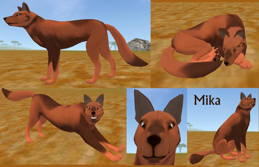 Crearé un nuevo Wolf's Rain con mis personajes de FH Mika___feral_heart_preset_by_ki_cortana-d5hnltx